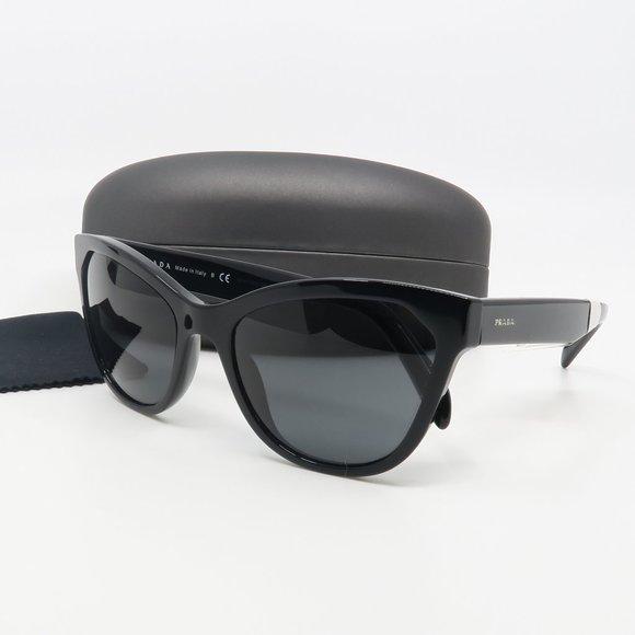 SPR 15V 1AB-5S0 Prada Black/ Gray Sunglasses